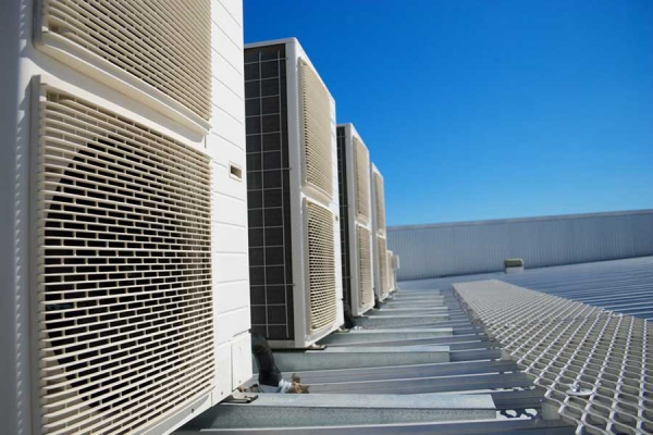 Air conditioning industrial, commercial and public